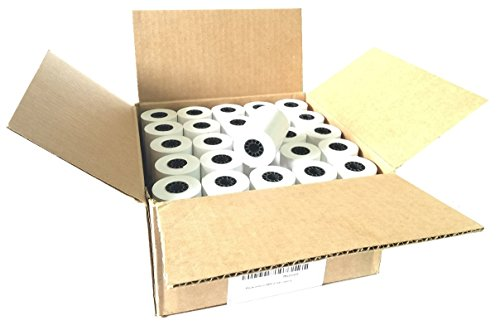 """2 1/4"""" X 85' Thermal Credit Card Paper 50 Rolls Per Box for Use in Some Verifone, Omni, Hypercom and First Data, BPA Free"""
