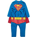 Superman Toddler Costume Coverall with Cape