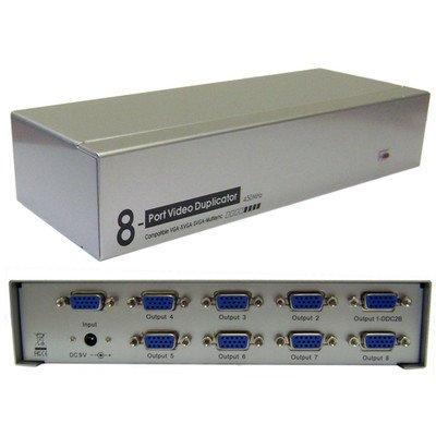 VGAビデオスプリッタ、1 pc to 8モニタ、450 MHz10パックby NETCNA B071KGNYNV