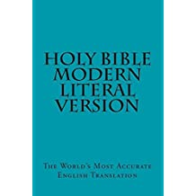 Modern Literal Version New Testament: Red Letter