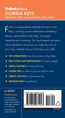 414vaQGVa L - Fodor's In Focus Florida Keys: with Key West, Marathon & Key Largo (Travel Guide)