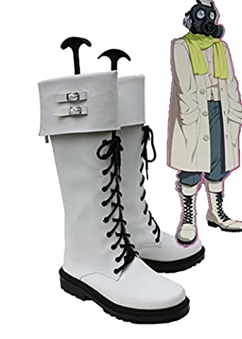 Dramatical Murder DMMD Clear Cosplay Shoes Boots Custom Made (Clear Dramatical Murder)