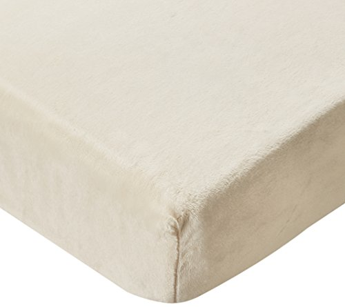Glenna Jean Angelina Fitted Sheet, Cream Softee/Pink ()