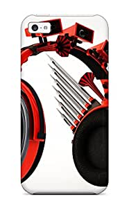 Jimmy E Aguirre's Shop Waterdrop Snap-on High Tech Headset Case For Iphone 5c 7409872K38705330