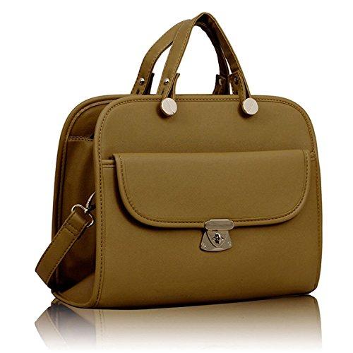 Xardi London-Borsa da donna con tracolla, con Doctor-Borsa da donna con tracolla, Bags UK Marrone (Tenné)