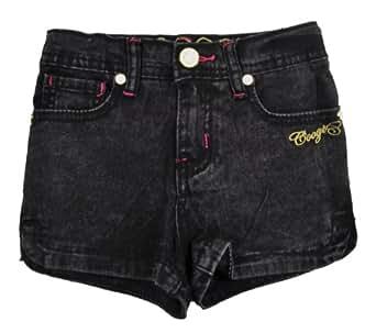 Amazon.com: Coogi Toddler Girls Black Acid Denim Shorts