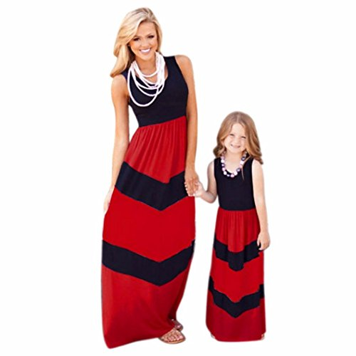 Ecosin%C2%AE Stripe Stitching daughter Clothes