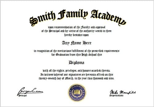 This is a graphic of Printable Home School Diploma within college
