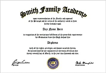 graphic relating to Printable Home School Diploma identify : House Higher education Substantial University Degree - Homeschool