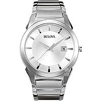Bulova Men's Bracelet Calendar Dress Watch
