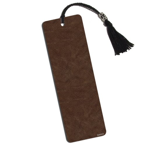 Leather Look Printed Bookmark with Tassel from Made on Terra