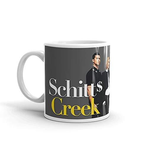 Tyna Ho Schitt 39 Creek, Rose family, tv show, funny, cool, logo, white, yellow, film, actor, celebrity, comedy, humor, good vibes, gift, present, ideas 11 Oz