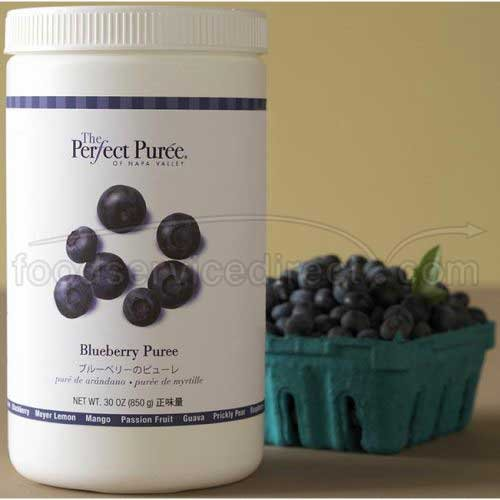 The Perfect Puree Blueberry Puree, 30 Ounce -- 6 per case.