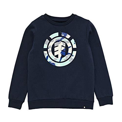 Element Boys Sweatshirt - Element Spirit Camo Crew Boys Sweater Age 16 Eclipse Navy