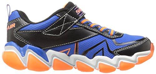 Skechers 97411/073 SKECHAIR 3 97411 Blue-Black-Orange Kids everyday shoes, Black/Blue/Orange, 10.5 UK M Little kid