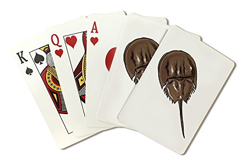 (Horseshoe Crab - Icon (Playing Card Deck - 52 Card Poker Size with Jokers))