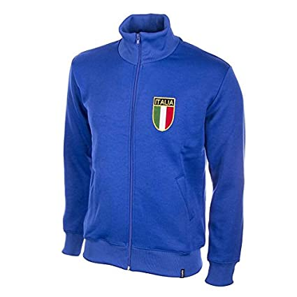 Amazon.com   Italy 1970  s Retro Jacket polyester   cotton   Sports ... 78da2a577