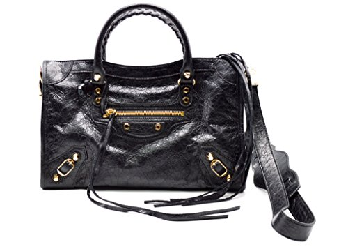 Balenciaga With Gold Hardware Classic City Textured-leather Tote Shoulder Bag