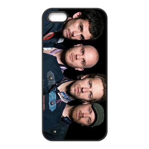 Coldplay 001 coque iPhone 4 4S cellulaire cas coque de téléphone cas téléphone cellulaire noir couvercle EEEXLKNBC24289
