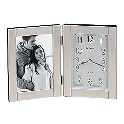 Bulova Forte II Picture Frame Clock