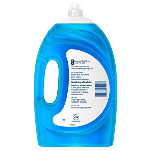 Dawn Ultra Dish Soap, Original Scent, 75 Oz, Blue, Case of 6