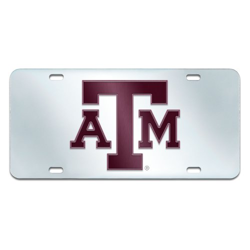 FANMATS NCAA Texas A&M University Aggies Plastic License Plate ()
