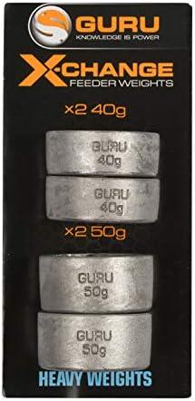 Light spare pack Guru X-Change Distance Feeder Weights