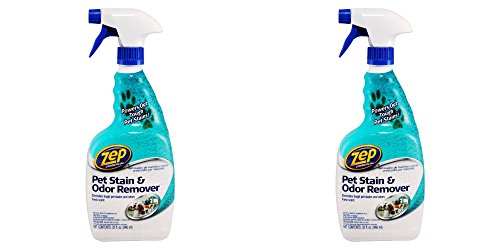 Out Pet Stain Odor Remover - ZEP Commercial PET STAIN & ODOR REMOVER Oxy Formula 32 oz. (2 PACK)