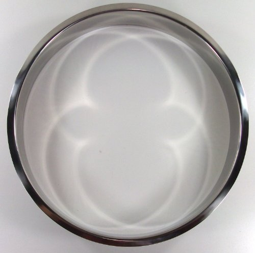 Polished Stainless Steel 10'' x 2'' Trash Grommet by Hardware Concepts