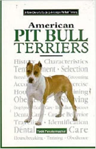 9d3307cb9 A New Owner's Guide to the American Pit Bull Terriers (JG Dog) Hardcover –  September 1, 1996