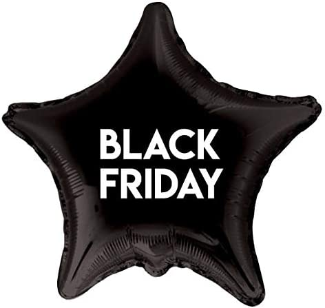Globos Black Friday Foil Estrella 91cm: Amazon.es: Juguetes y juegos