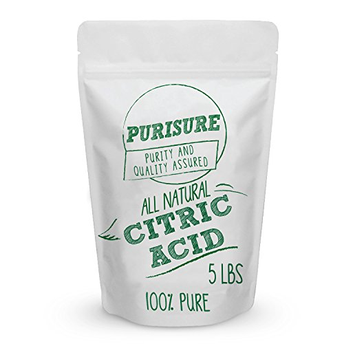 Food Grade Citric Acid Powder 5lbs | Non-GMO | Natural & Effective Food Preservative | Cleaning Agent | Enhance Your Recipes | Natural Cleaner & Descaler | Beauty Ingredient