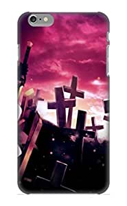 Freshmilk Durable Defender Iphone 4/4S Tpu Cover(Anime Black Rock Shooter) Best Gift Choice