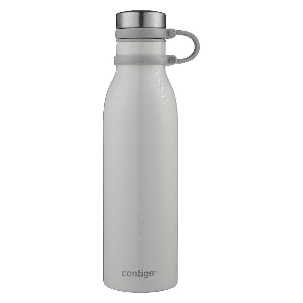 Contigo 20oz Matterhorn Couture Thermalock VacuumInsulated Stainless Steel Water Bottle (Metallic Oyster)