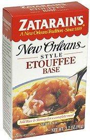 Zatarains Etouffee Base, 3.2 Ounce -- 12 per case.