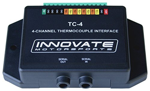 Thermocouple Amplifier (Innovate Motorsports 3784 TC-4 Thermocouple Amplifier Datalogger EGT CHT)