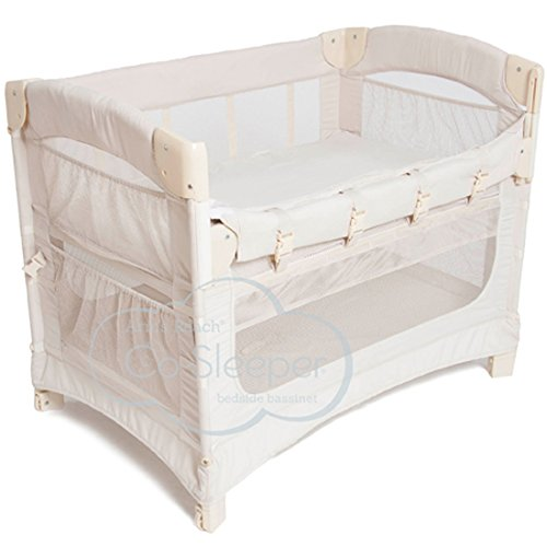 Arm's Reach Concepts Ideal Ezee 3-in-1 Bedside Bassinet - Natural by Arm's Reach