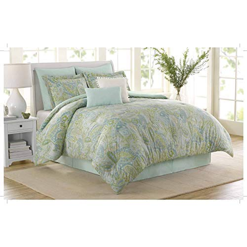 Soho New York Home Sea Glass 8-Piece Comforter Set, King (Soho-shopping New York)
