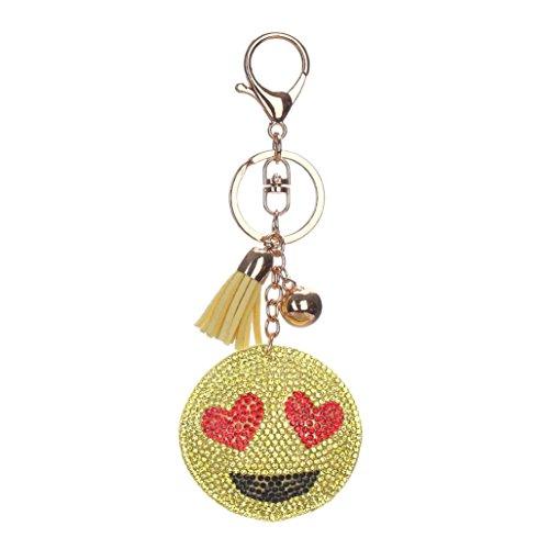 Sunfei Rhinestone Keychain Handbag Pendant