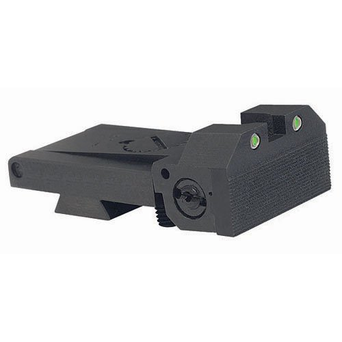 BoMar BMCS 1911 Kensight Sight Trijicon Tritium insert - Night Sights with Beveled Blade by Kensight