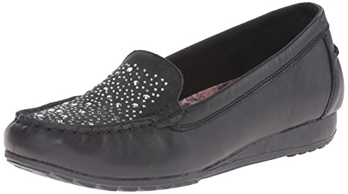 Slip On Women's Black Skechers Rome Loafer 0wgn6q