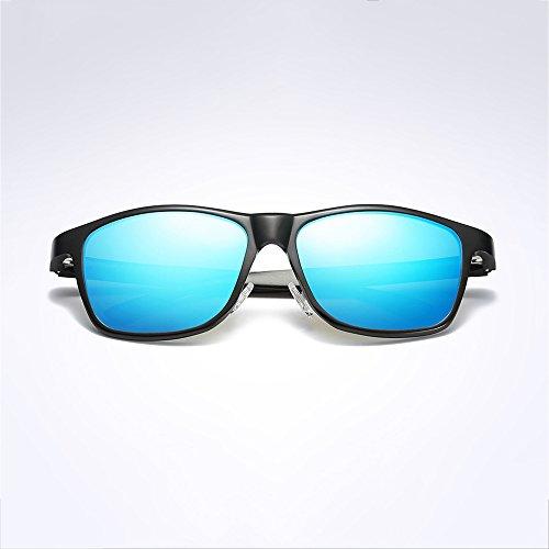 Soleil SEEKSUNG® Bleu Bleu Bleu Homme Lunettes de w8g8EZ