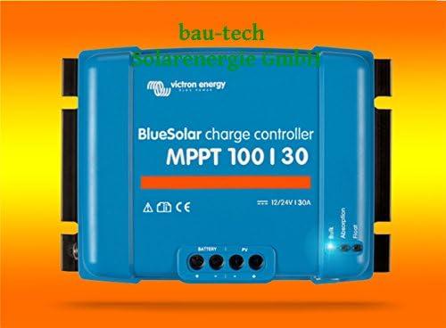 Victron 30Amper MPPT Laderegler 100/30 für 12V oder 24V Systemen von bau-tech Solarenergie GmbH