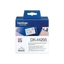 Brother DK44205 - Etiquetas, color blanco