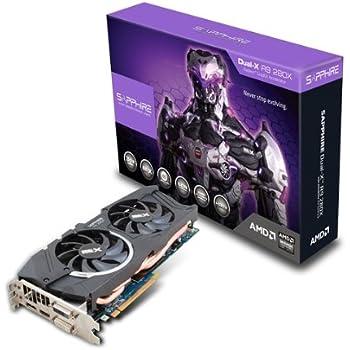 Sapphire Radeon R9 280X 3GB GDDR5 DVI-I/DVI-D/HDMI/DP Dual-X OC Version (UEFI) PCI-Express Graphics Card 11221-00-20G