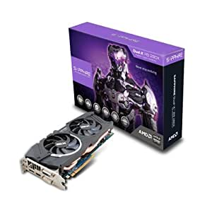 Sapphire Radeon R9 280X 3GB GDDR5 DVI-I/DVI-D/HDMI/DP Dual-X OC Version (UEFI) PCI-Express Graphics Card 11221-00-20G