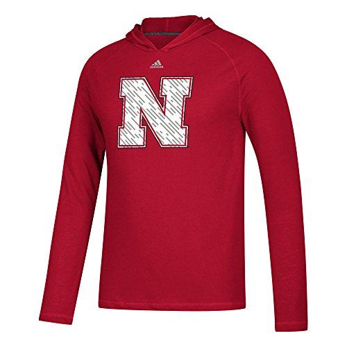 Ncaa Nebraska Cornhuskers Golf Tee (NCAA Nebraska Cornhuskers Mens Line Shine Ultimate L/S Hoodline Shine Ultimate L/S Hood, Power Red, XX-Large)