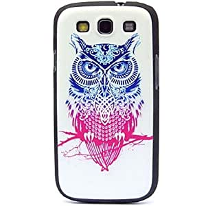 LIMME Double Color Owl Pattern Hard Case for Samsung Galaxy S3 I9300