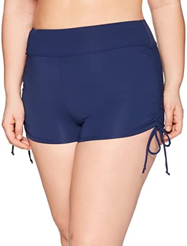 Swimsuits for All Women's Plus Size Lycra Xtra Life Bike Short Swim Bottom