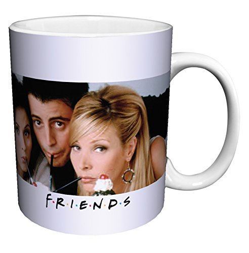 Friends Drinking Milkshakes Television Ceramic product image